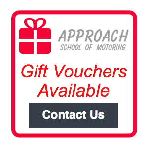 Approach Driving School Driving Lesson Vouchers - either single lessons or blocks of lessons